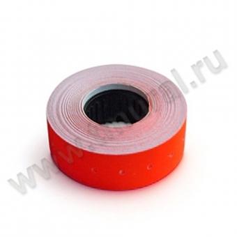 00007071 - 21,5х12, этикет-лента красная, прямая