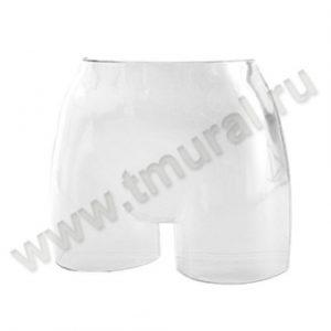 00007227hs 300x300 - М-104К Манекен-торс женский-навесная форма пластик, белый