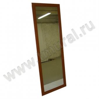 00009856 - Зеркало навесное 1590х566 в раме МДФ вишня