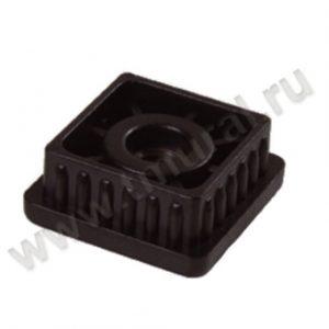 00009882 300x300 - BASIS40 Стойка перфорированная L=2400 мм, 40х40, хром