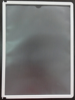 45910873e8b9755df295e7740399d3525c - Рамка для пластиковой настенной перекидной системы А4 ,белый