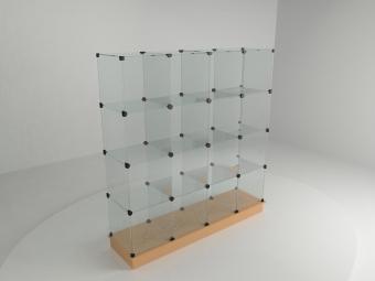 7 - Подиум 1680х450х540мм бел/черн