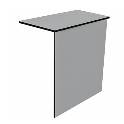 700 nw8798 - Дверь-хлопушка 450 (ДСП) белая/черный