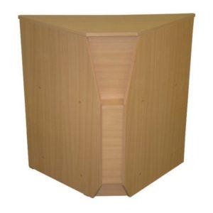 Puvs buk2 300x300 - Дверь-хлопушка 450 (ДСП) белая/черный