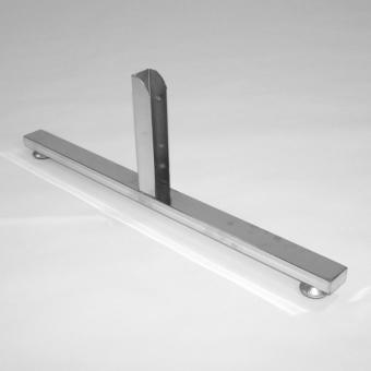 bazis opora dvuhstoron - BASIS40 Опора двухсторонняя 40х20х640 мм хром