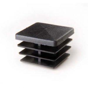 bazis zaglushka 40 300x300 - BASIS40 Стойка перфорированная L=2400 мм, 40х40, хром
