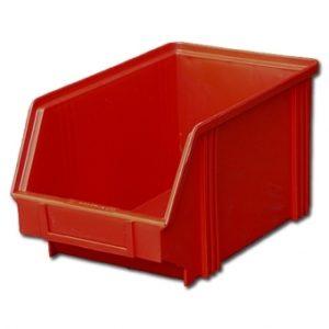 krasnyy kont 300x300 - 7963 Контейнер 400х230х150, полипропилен