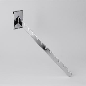 kronsht na reshet s vyemkami - G 110 Кронштейн на решетку с выемками (хром)