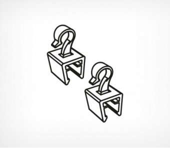 object1274 - Крючок для подвешивания рамы к профилю для крепления сверху