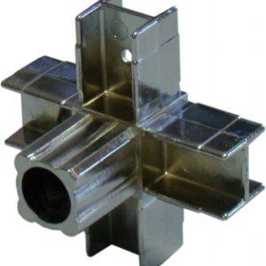 pr 3 300x300 - 2 Крепеж 4-х направленный 25х25 (хром)