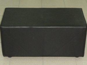 pryamougolnik chernyy 300x227 - Банкетка Куб 350*350*350,винил, черный