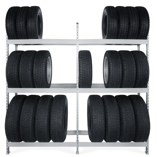 Стеллажи для хранения шин и дисков