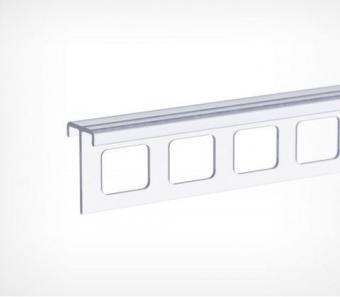 shina - Шина с перфорацией для алюминиевого профиля длина 1м