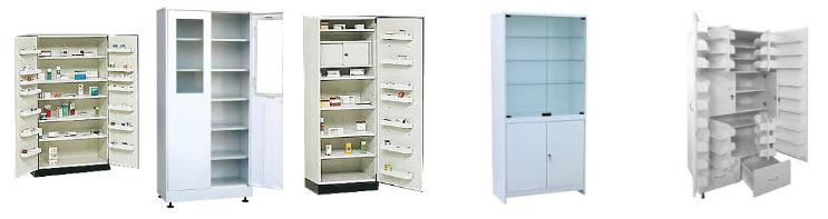 Шкафы для медикаментов