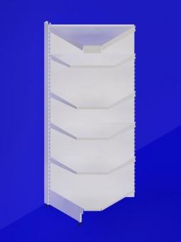 stel met uglov s kanape 750h2350h750 - Стеллаж торговый 900*600*1950мм