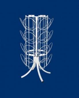 stoyka d shapoch nastoln - Стойка для шапочек настольная 24 ячейки Сш3