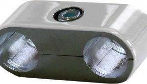 uno 2 300x172 - U-04/R43Y Зажим для труб угловой в 4-х направлениях